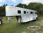 McQuerry Aluminum In-Line Two-Horse Trailer (1M9GH3024HF075090)