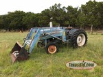 Tractor:  Ford 3000 Diesel with 776A Loader