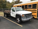 1994 Chevrolet C3500 Flatbed Dually 1-ton., engine srarted, has cooling issues and bad transmission, Mileage shows 78,483.  VIN: 1GBKC34N5RJ113753
