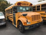 2001 Bluebird School Bus. International Diesel, started. Mileage shows 155,762.   VIN: 1HVBBABM51H404532