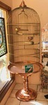 Bird Cage, a James T. Durant, Fine Hand Crafted of Brass & Copper