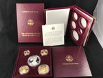 1995 US Mint American Eagle Impressions of Liberty 5-Coin Set