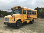 2004 Mercedes Diesel Yellow School Bus, automatic, odometer shows 332,287 (4UZAAWCT34CM25447)