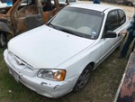 Storage Lien: (arrest)  2002 Hyundai Accent, (No Key) (KMHCG35C32U224254)