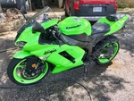Seizure:  Motorcycle:  2008 Kawasaki ZX-6R odometer shows only 5,547 miles (green) (JKAZX4P168A041029)