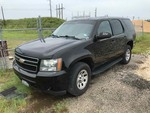 2011 Chevrolet 4WD Tahoe, 129,604 Police Vehicle,  (VIN: 1GNSK2E09BR146961)  Harvey Flood Vehicle