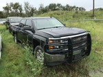 2014 Chevrolet Silverado 4WD Crew Cab,  58,877  (VIN:  3GCUKREC8EG325579)  Harvey Flood Vehicle