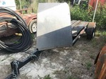 Storage Lien: Abandoned:  2009 Homemade Motorcycle Trailer (No Vin, no title)
