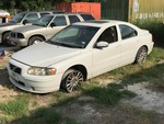 Storage Lien: Abandoned: 2007 Volvo S60, White odometer reads: 151863 (YV1RS592472644855)