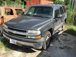 Storage Lien: Arrest:  2002 Chevrolet Tahoe (Grey)(1GNEC13Z52R210922)