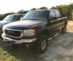 2004 GMC 2500 Pickup 4x4 (Black) (1GTHK23U64F198609)