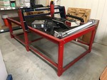 Plasma Cutting Table, its big and heavy!  (torch or plasma cutter not included)