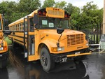 School Bus:  1998 International,  7.3 Ltr diesel, 161,803 miles  (VIN:  1HVBBABNOWH562213)