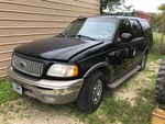 Storage Lien: Wreck:  2000 Ford Expedition Eddie Bauer Edition, roll over on right side  (VIN:  1FMPU18L1YLB04199)
