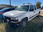 Storage Lien: Arrest:  2000 White Chevrolet 1500 Pickup Truck, Odometer displays 232,254 (2GCEC19W1Y1349999)