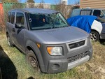 Storage Lien: Wrecked:  2004 Gray Honda Element, Odom. 276,624 (5J6YH17334L004575)