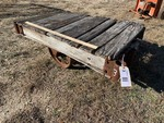 Primitive Antique Warehouse Cart