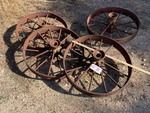 (4) Farm Implement Wheels