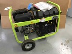 Pramac Portable Diesel Generator w/Yanmar diesel engine, Mod. S5500 60Hz, w/mobility kit, electric start, unused!