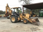 1993 Ford New Holland 575D backhoe VIN# A420429, diesel