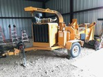 Bandit Model 90 W Wood Chipper, Caterpillar Diesel engine, only about 115 (+/-)  hours showing on meter!