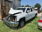 Storage Lien: (wreck)  2016 Chevrolet 4 Door 1500 Pickup, white, has keys, unknown mileage  (VIN: 1GCRCREC6GZ366203)