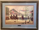 Framed and Matted Art Print: Artist Proof, Limited Edition, Signed, Numbered - Moment of Glory - G. Harvey (ST)