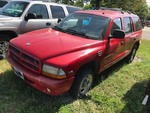 Storage Lien:  (impound)  1999 Dodge Durango, red  (VIN:  1B4HR28Y0XF526714)