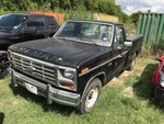 Storage Lien:  (impound)  1985 Ford F150 Pickup with utility bed, no keys, black  (VIN:  1FTCF15H2FLA43746)