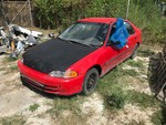 Storage Lien:  (impound)  1993 Honda Civic, red, started, odometer 199,231  (VIN:  JHMEG8553PS034385)