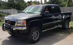 Asset Forfeiture: 2006 GMC 1500 4x4 Pickup, auto, black, cold air (2GTEK13V361311321)