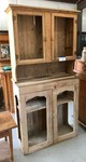 Primitive Antique: Two-Piece Hutch (Jahn/J.J. New Braunfels)
