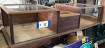 Antique Oak Counter Top Display/Register