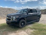2016 Chevrolet Tahoe Police Vehicle, black, started, see video, broken windows odo 20,318,  (VIN:  1GNLCDECXGR148393)