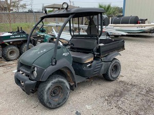 Surplus 2015 Kawasaki Mule 610.  unknown condition  (VIN: JK1AFEA15FB569070)