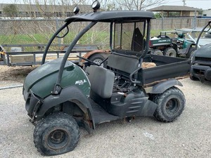 Surplus 2015 Kawasaki Mule 610.  unknown condition  (VIN: JK1AFEA18FB570763)