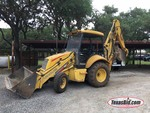 Heavy Equipment:  2001 New Holland Backhoe Mod. 75B, Diesel,  LB75B-699300001    (S/N: 031031356)